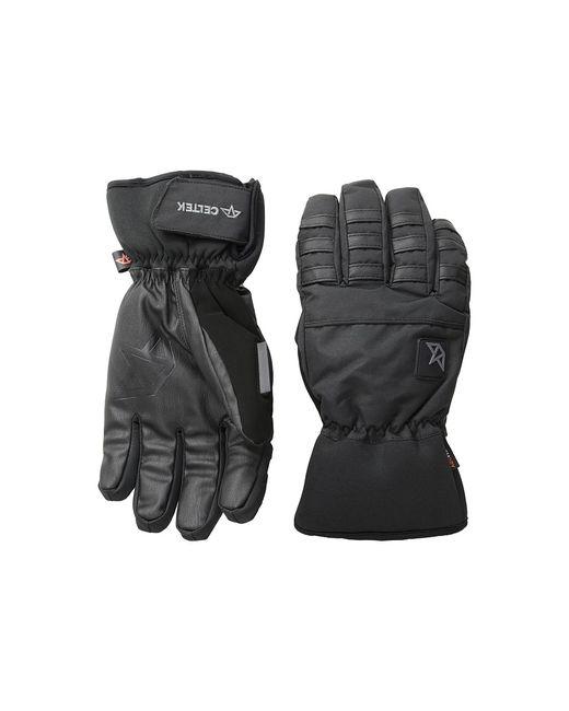 Celtek | Чёрный Ace Gloves Snowboard Gloves