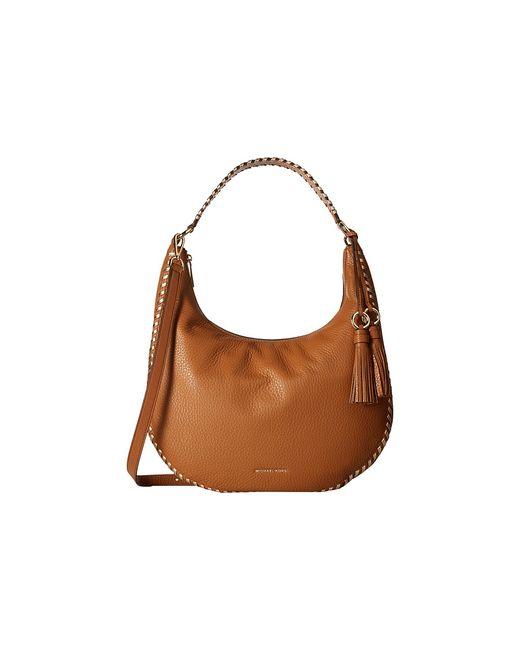 Michael Michael Kors | Коричневый Lauryn Large Shoulder Acorn Handbags