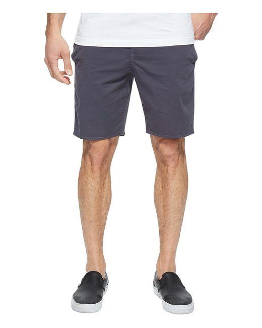 Roark | Серый Well Worn Chino Shorts Charcoal Mens Shorts