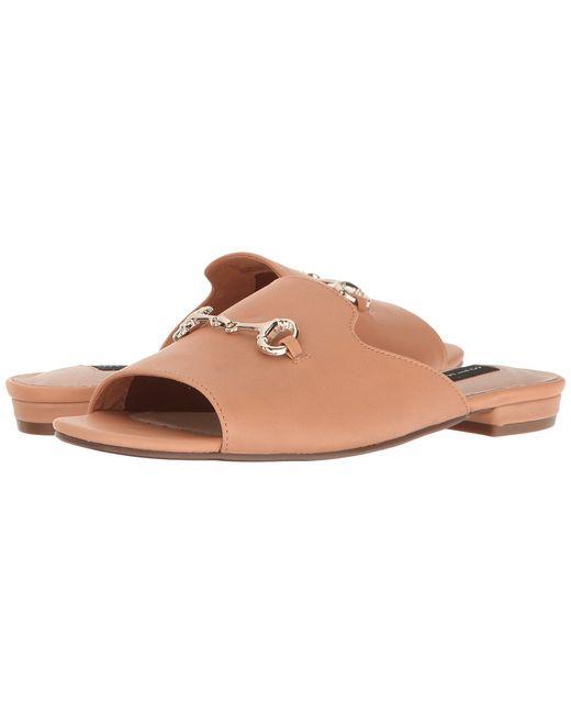 Steven | Коричневый Fela Natural Leather Womens Shoes