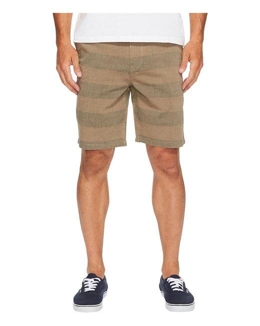 Roark | Коричневый Porter Chambray Shorts Mens Shorts