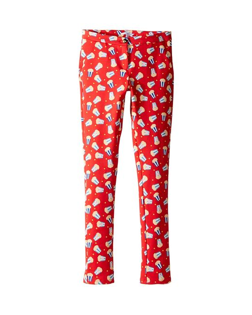 Little Marc Jacobs   Красный All Over Printed Pop Corn Trousers Big