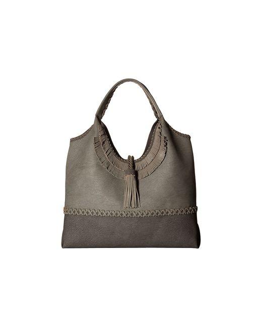 Steven | Серый Jkhloe Hobo Leather Trim Hobo Handbags