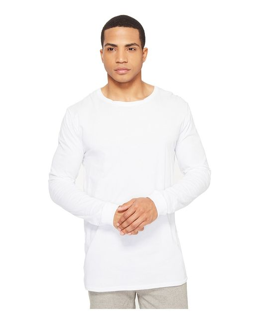 NANA JUDY | Белый The Basic Long Sleeve Mens Clothing