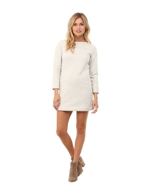 French Connection | Серый Cocoon Marl Top 71eij Melange Womens Dress