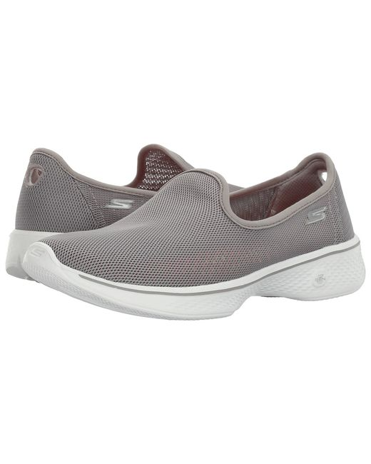 SKECHERS Performance | Серый Go Walk 4 Airy Womens Shoes
