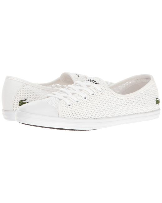 Lacoste   Белый Ziane 217 1 Womens Shoes