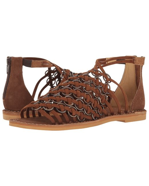 Coolway | Коричневый 1monnie Cue Leather Womens Shoes
