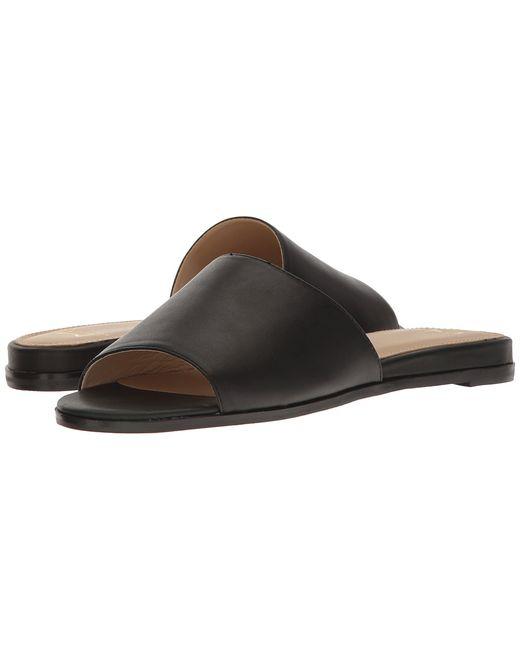 MARC FISHER LTD   Чёрный Wyndi Leather Womens Shoes
