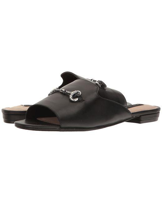 Steven   Чёрный Fela Leather Womens Shoes
