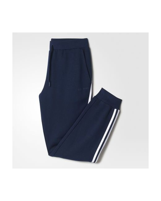 Adidas | Мужские Белые Брюки 3-Stripes