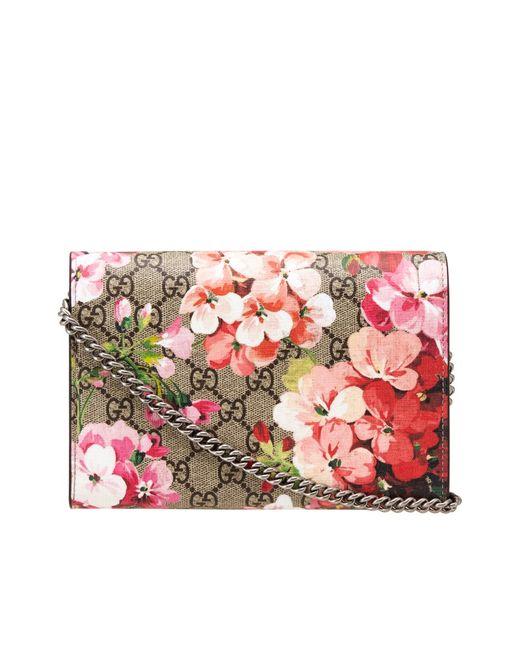 Gucci | Женский Многоцветный Бумажник Gg Supreme