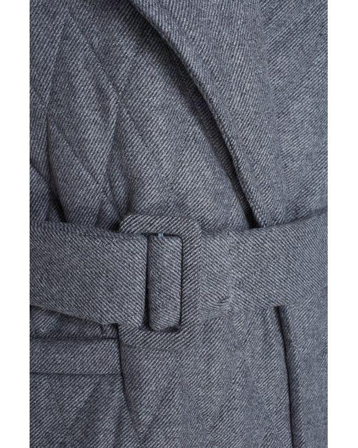 I Am  Studio | Женское Серое Стеганое Пальто