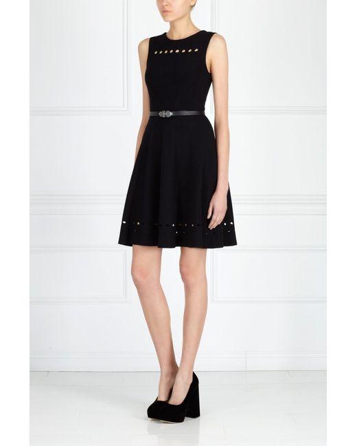 Issa London | Чёрное Однотонное Платье