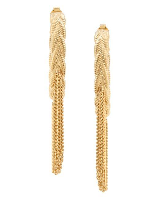 Ca & Lou   Золотые Серьги Lily Hoops
