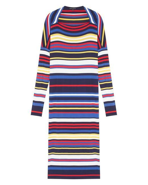 Victoria Andreyanova | Женское Многоцветное Платье В Полоску