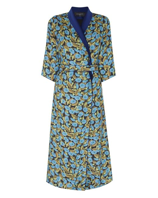 Nataniel Dobryanskaya | Женское Жёлтое Платье С Запáхом