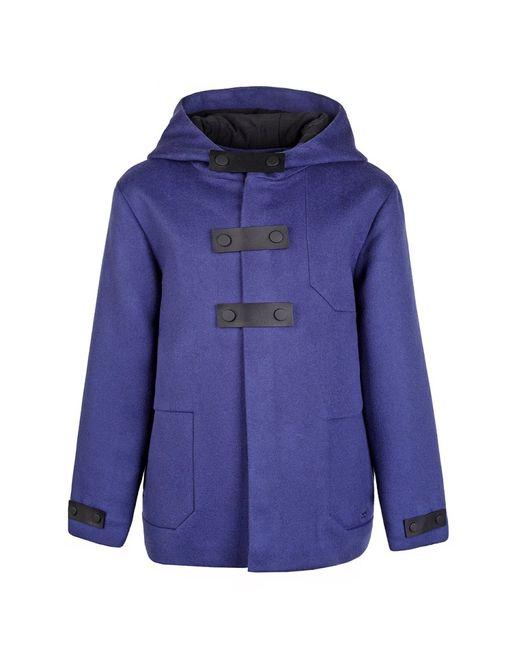 Dior Children   Синее Шерстяное Пальто