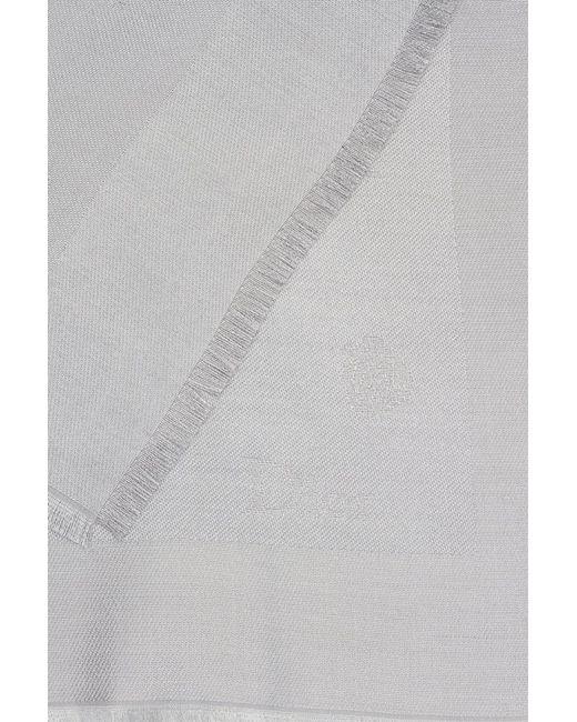 Dior Children | Серый Шелковый Платок