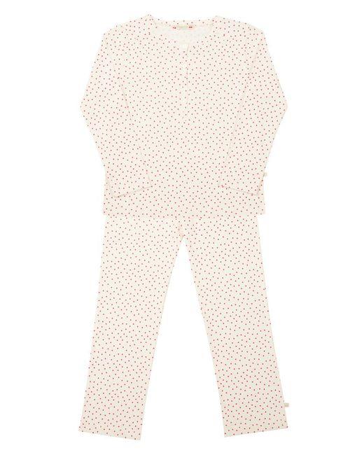 Bonpoint | Красный Пижамный Комплект