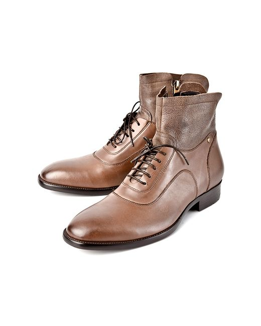 Alba | Мужские Коричневые Ботинки