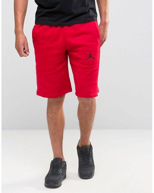 Jordan   Мужские Красные Шорты Nike 824020-687