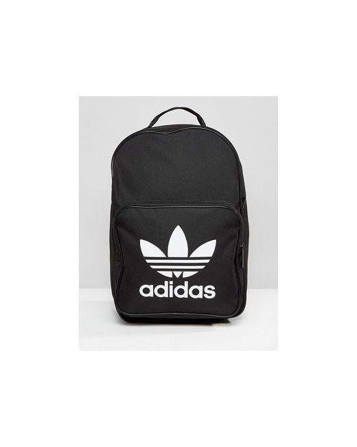 e23c25535c80 Adidas - Женский Чёрный Рюкзак С Логотипом В Виде Трилистника Originals
