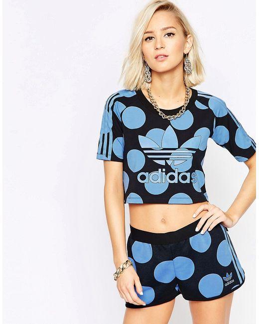 Adidas | Pharrell Dear Baes Crop T-Shirt