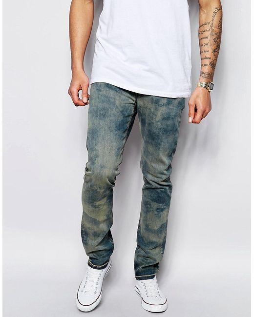 Lee | Суженные Книзу Темные Джинсы Jeans Luke