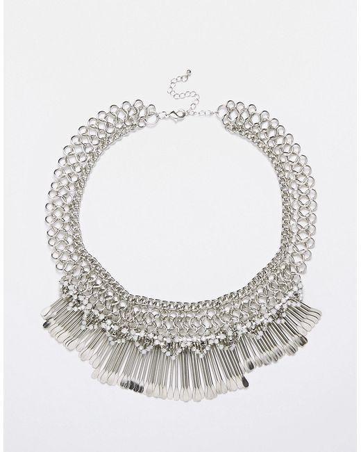 Designsix | Серебряное Многоярусное Ожерелье