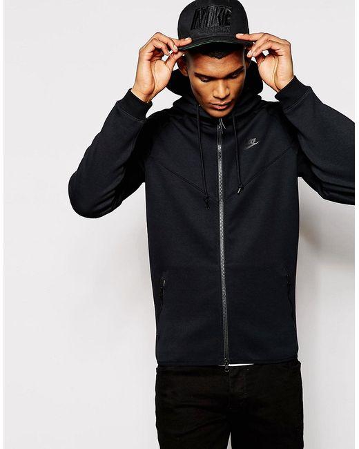 Nike | Чёрная Куртка Tf Windrunner