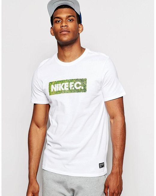 Nike   Белая Футболка Fc Glory