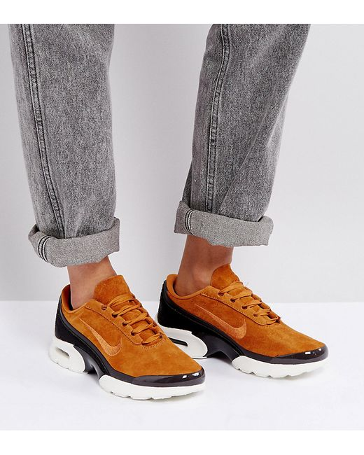 aa9783e2 Женское Коричневое Светло Кроссовки Air Max Jewell Nike 6211378