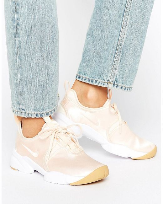Nike | Женское Оранжевое Светло Кроссовки Loden
