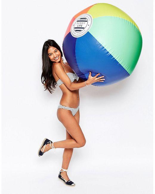 SunnyLife | Многоцветный Надувной Мяч Размера Xl