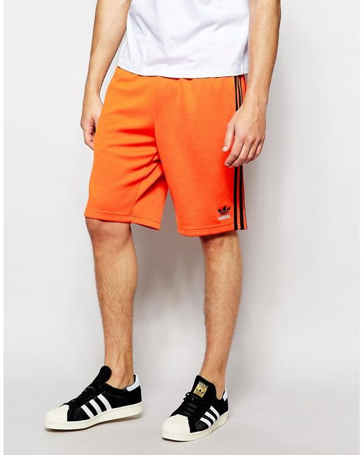 adidas Originals | Мужские Оранжевые Шорты Superstar Aj6940