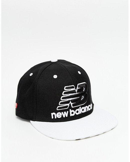 New Balance | Чёрная Бейсболка Courtside