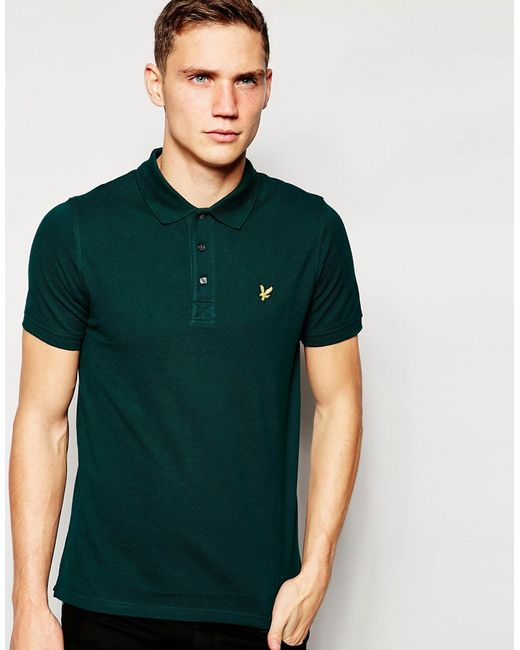 Lyle&Scott | Scotts G Футболка-Поло С Логотипом В Виде Орла Lyle