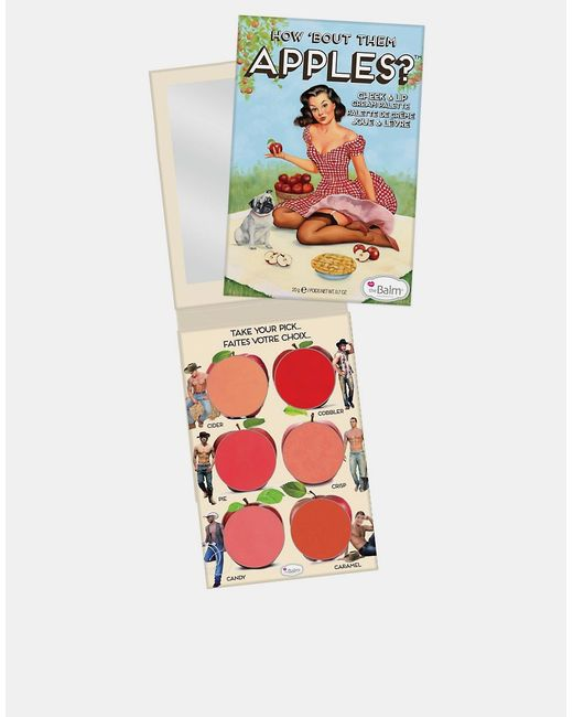 The Balm   Apples Помада-Румяна Thebalm How About Them Apples Apples