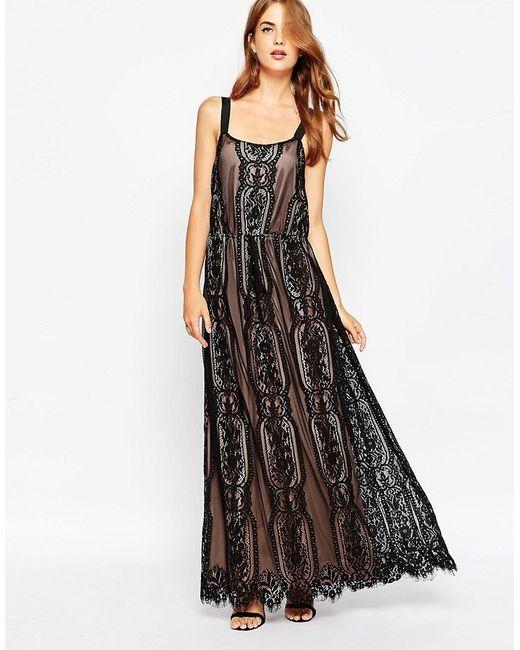 Adelyn Rae | Женское Кружевное Платье Макси