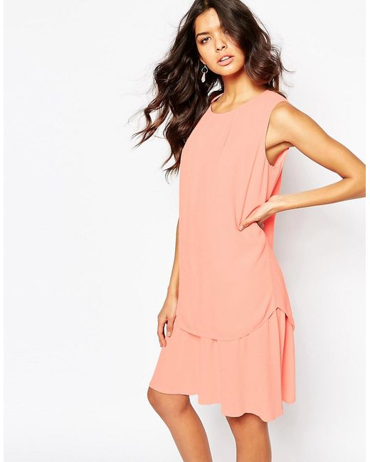BOSS Orange | Женское Двухслойное Платье