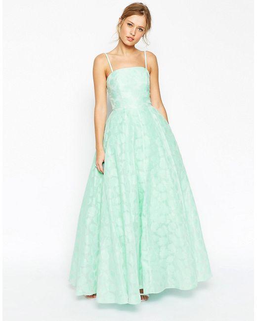 Asos   Женское Платье Бандо Salon Premium