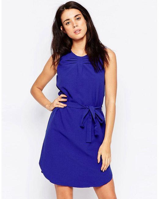 Lavand. | Женское B Цельнокройное Платье С Поясом Lavand