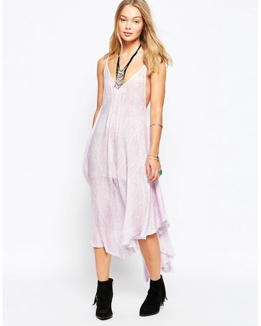 Free People | Pearl Combo Платье Knot For You