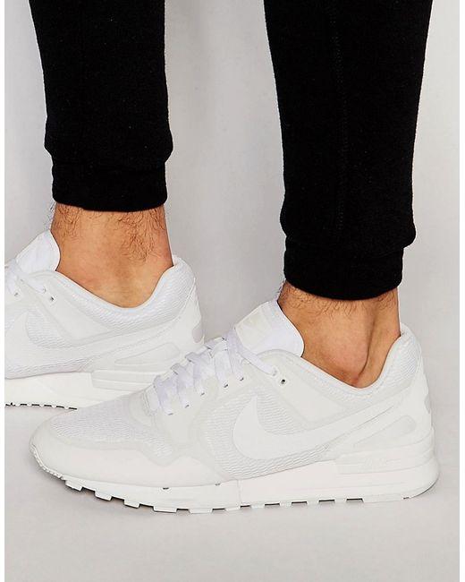 Nike   Женские Белые Кроссовки Air Pegasus 89 Ns 833148-111