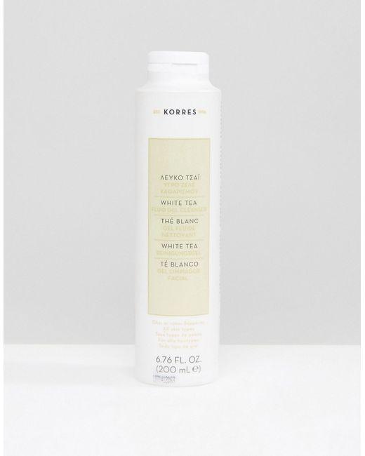 Korres | Белый Очищающий Жидкий Гель Для Лица С Белым