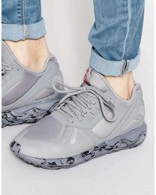 adidas Originals | Мужские Серые Кроссовки Tubular Runner