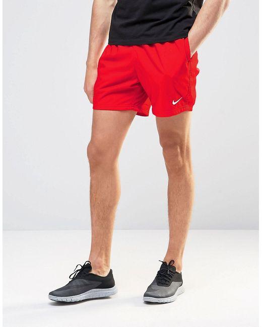 Nike | Мужские Красные Красные Шорты Flow 727737-600 Красный
