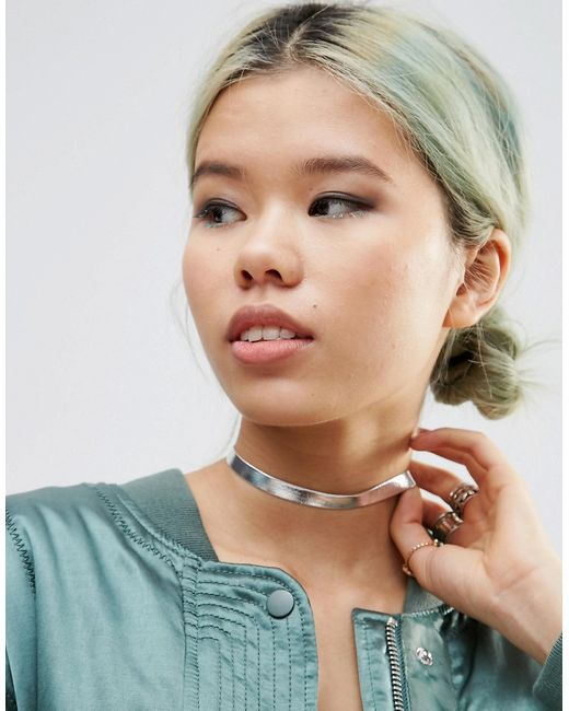 Asos | Серебряное Ожерелье-Чокер Ограниченной Серии