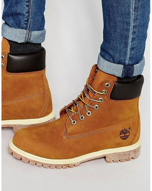 Timberland | Коричневый Icon 6 Inch Leather Premium Boots
